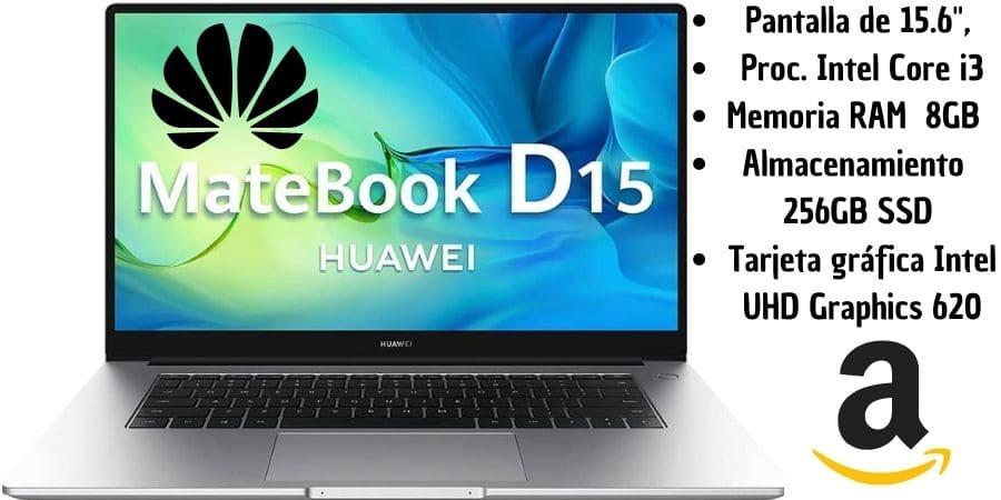 Portátil Huawei para estudiantes
