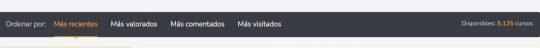 Utilizar los filtros en docenzia.com para encontrar qué estudiar y dónde hacerlo