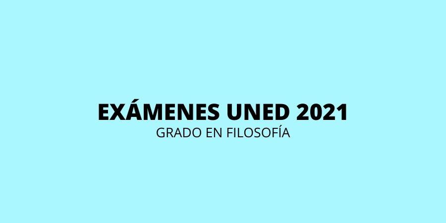 Calendario de exámenes Uned Filosofía 2021