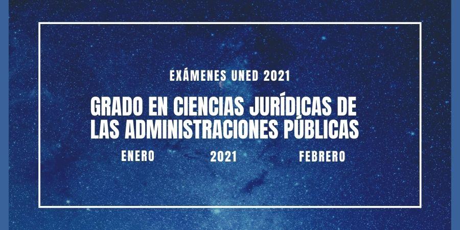 Fechas y horarios de los exámenes del grado en ciencias jurídicas de las administraciones públicas